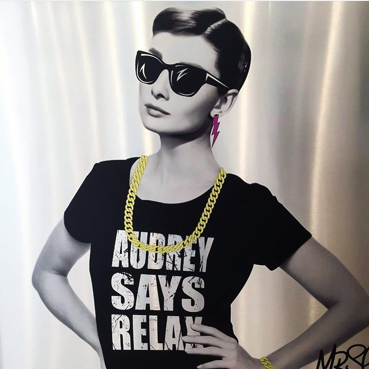Audrey Says Relax by Mr Sly