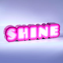 Ben Eine Shine Neon Font For Sale Lightbox