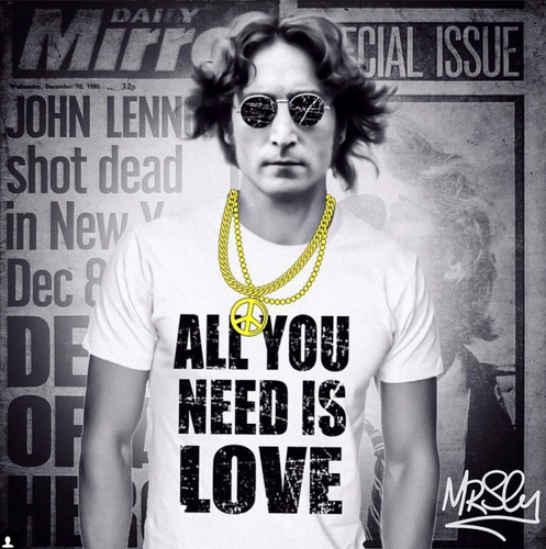 Mr Sly John Lennon All You Need is Love