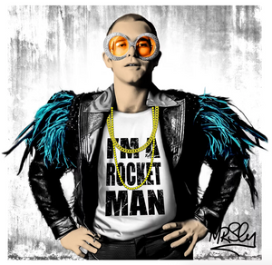 I'm A Rocket Man Elton John by Mr Sly
