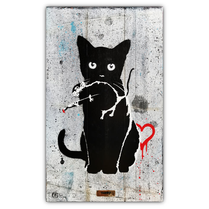 TABBY: TABBY Cat Vs Banksy Rat