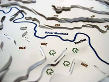 River Manifold on Dovedale and Tissington Wapenmap map