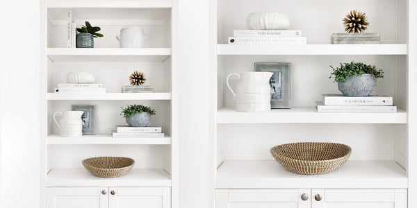 6 Steps To Effortlessly Style Your Shelves | Hudson Home