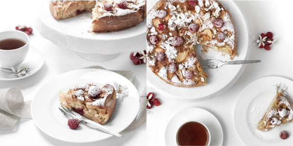 Raspberry & Apple Cake | Hudson Home