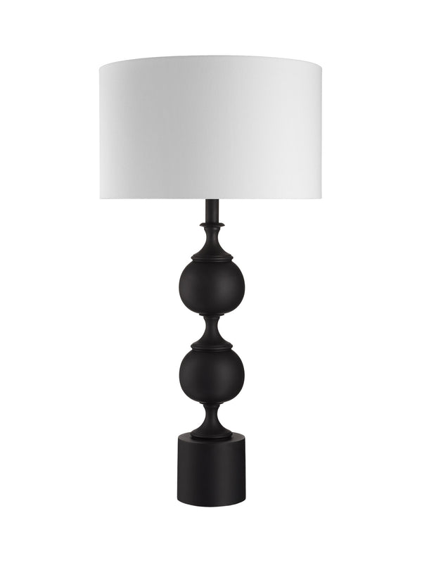 Black Bobble Lamp