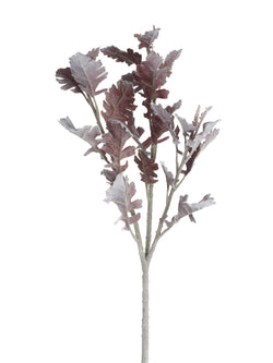 Faux Burgundy Leaf Spray