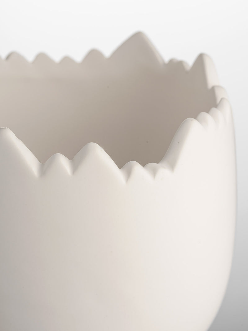 Ceramic Cracked Egg - Large