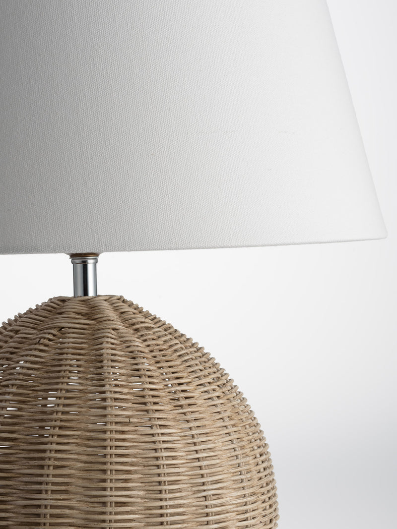 Conical Wooden Lamp