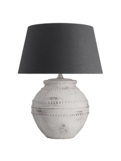 Etruscan Lamp - Charcoal