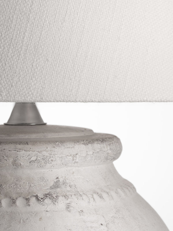 Etruscan Lamp - Off White