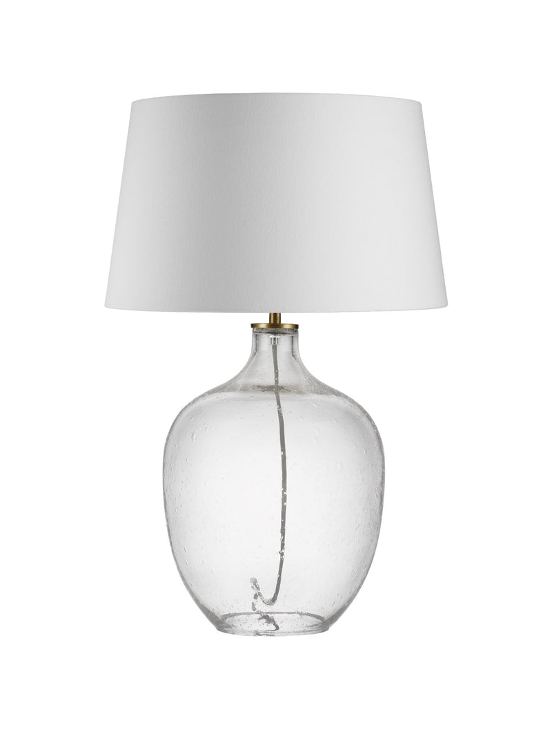 Glass Bubble Lamp - White Shade