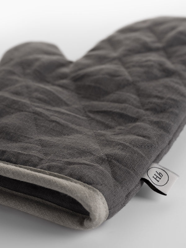 Oven Glove Charcoal Grey