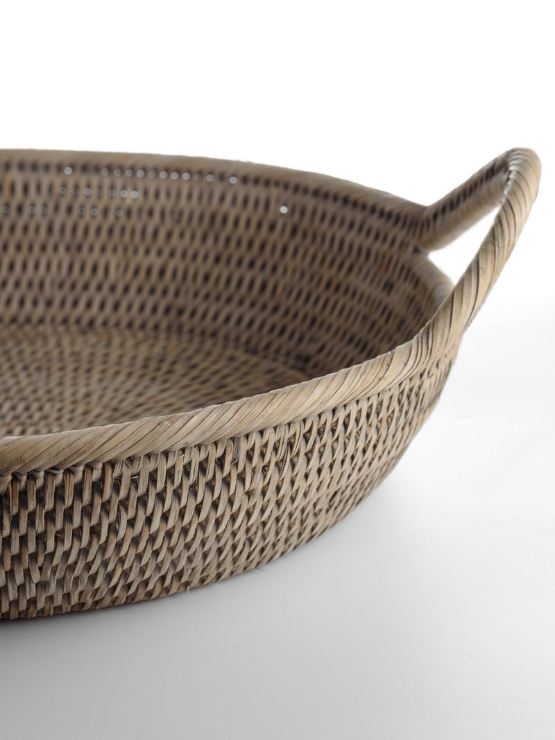 Rattan Tray Large Oval