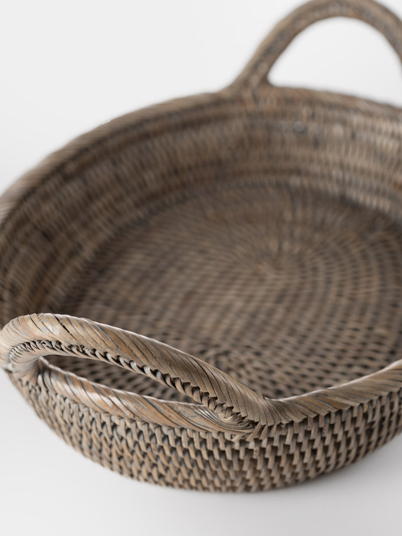 Rattan Oval Tray