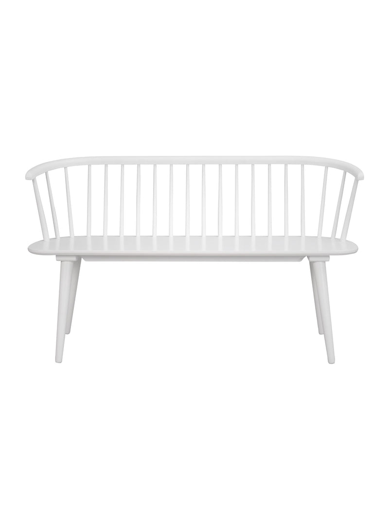 Ridgewood White Bench