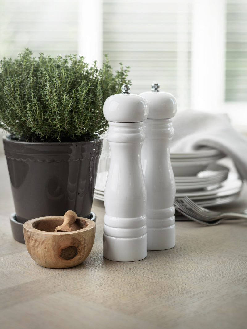 Salt and Pepper Mill - White