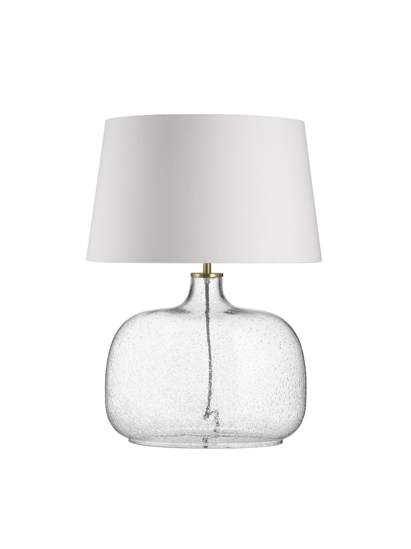 Oval Bubble Lamp - White Shade