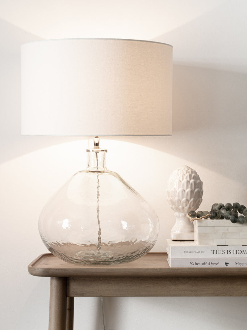Teardrop Glass Lamp