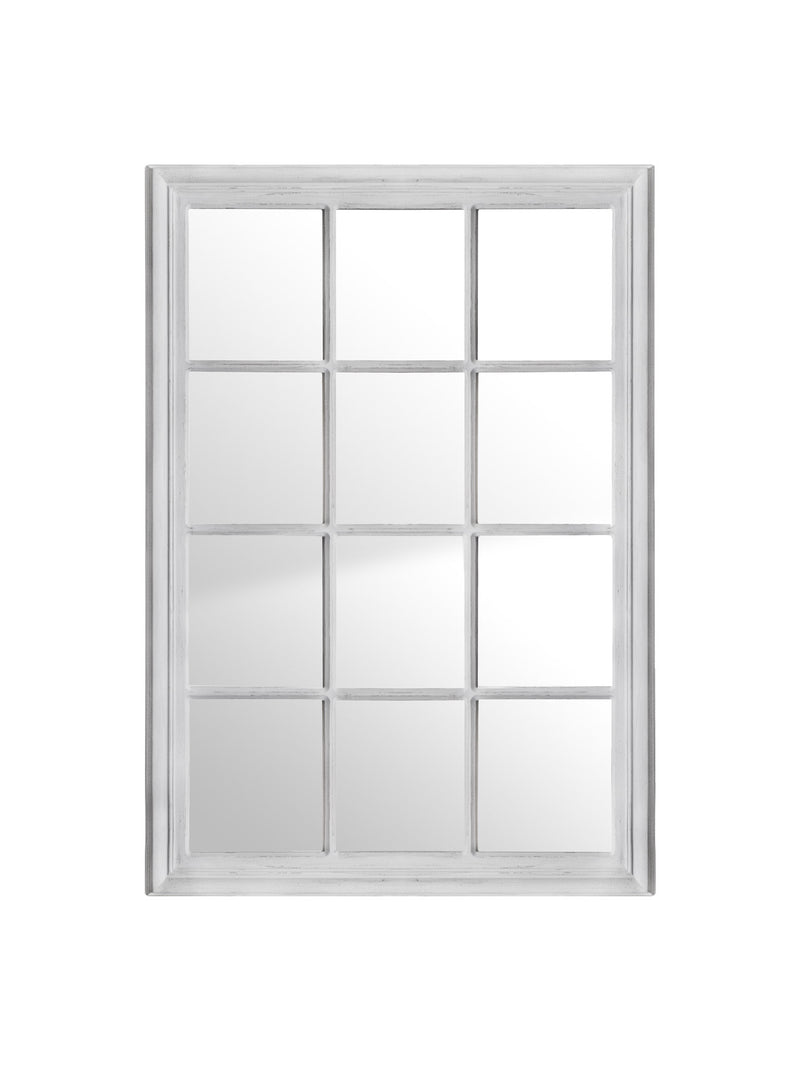 Window Mirror Antique White