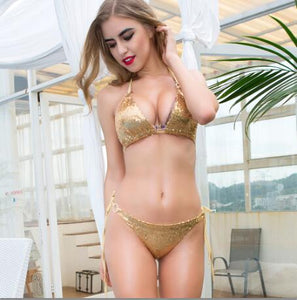 Nancy Sequin Stage Bikini
