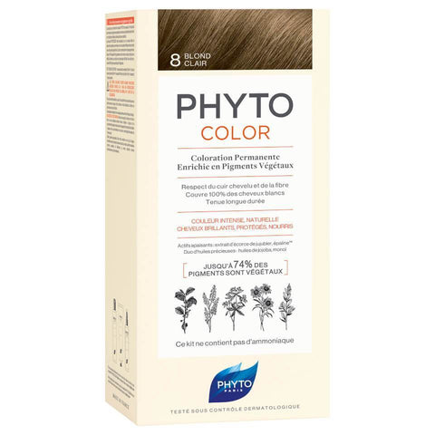NEW PHYTOCOLOR 8 Light Blonde
