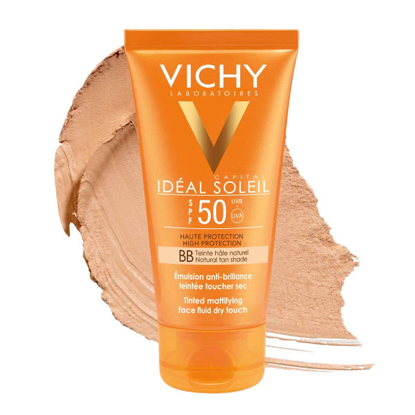 Ideal Soleil Bb Tinted Dry Touch Face Fluid SPF50+ 50ML