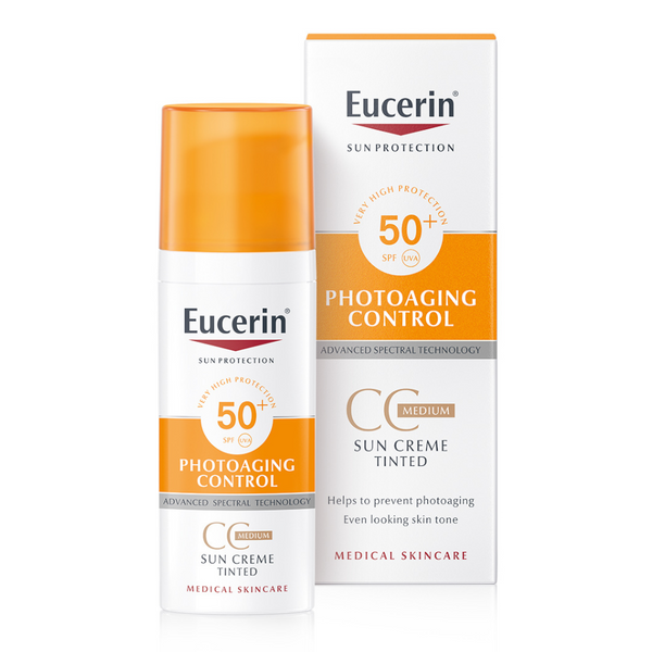 Sun Cream Tinted Photoaging Control SPF50+ Medium 50ML