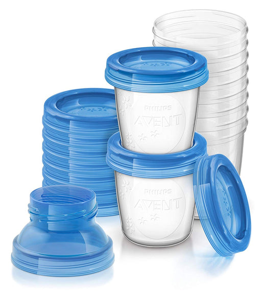 10 Reusable Breast Milk Storage Cups