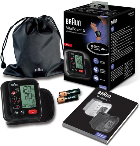Vital Scan Automatic Wrist Blood Pressure Monitor
