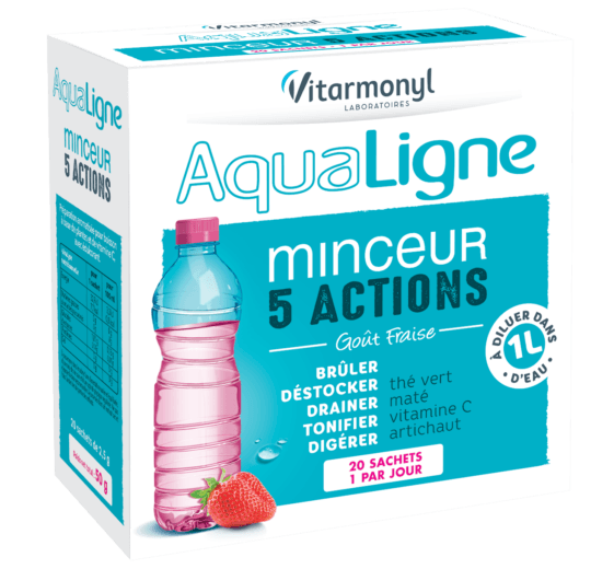 AquaLine 5 Action Slimming -  Box of 20 sachets