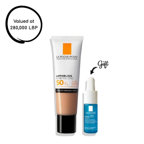 Anthelios Mineral One SPF50+ - Tan + Hyalu B5 10ml (gift)