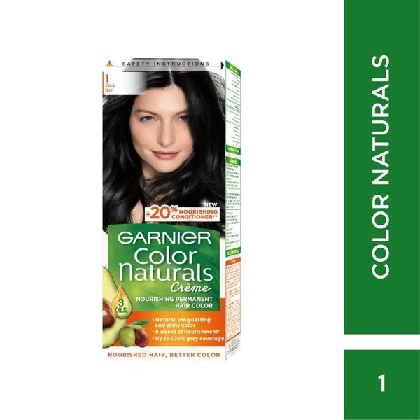 Color Naturals Hair Dye Garnier CN #1 BLACK