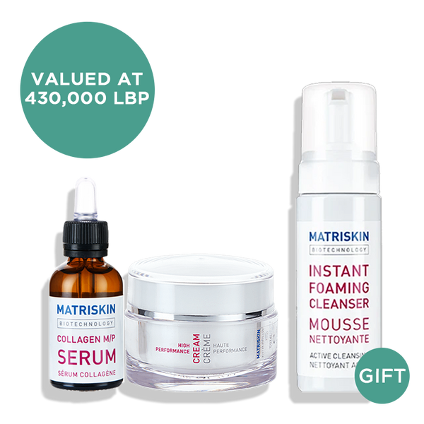 With the purchase of any Serum & Cream , get 1 Instant Foaming Cleanser 150ML (Gift)