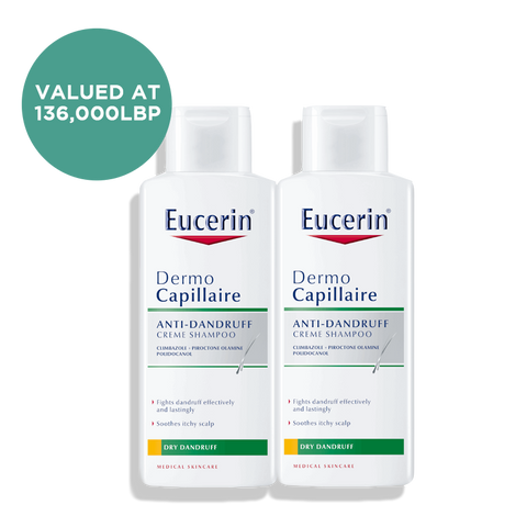 2 for 1 DermoCapillaire Anti-Dandruff Shampoo 250ML