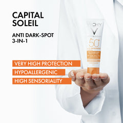 Capital Soleil 3-In-1 Tinted Anti-Dark Spots Care SPF50+ 50ML