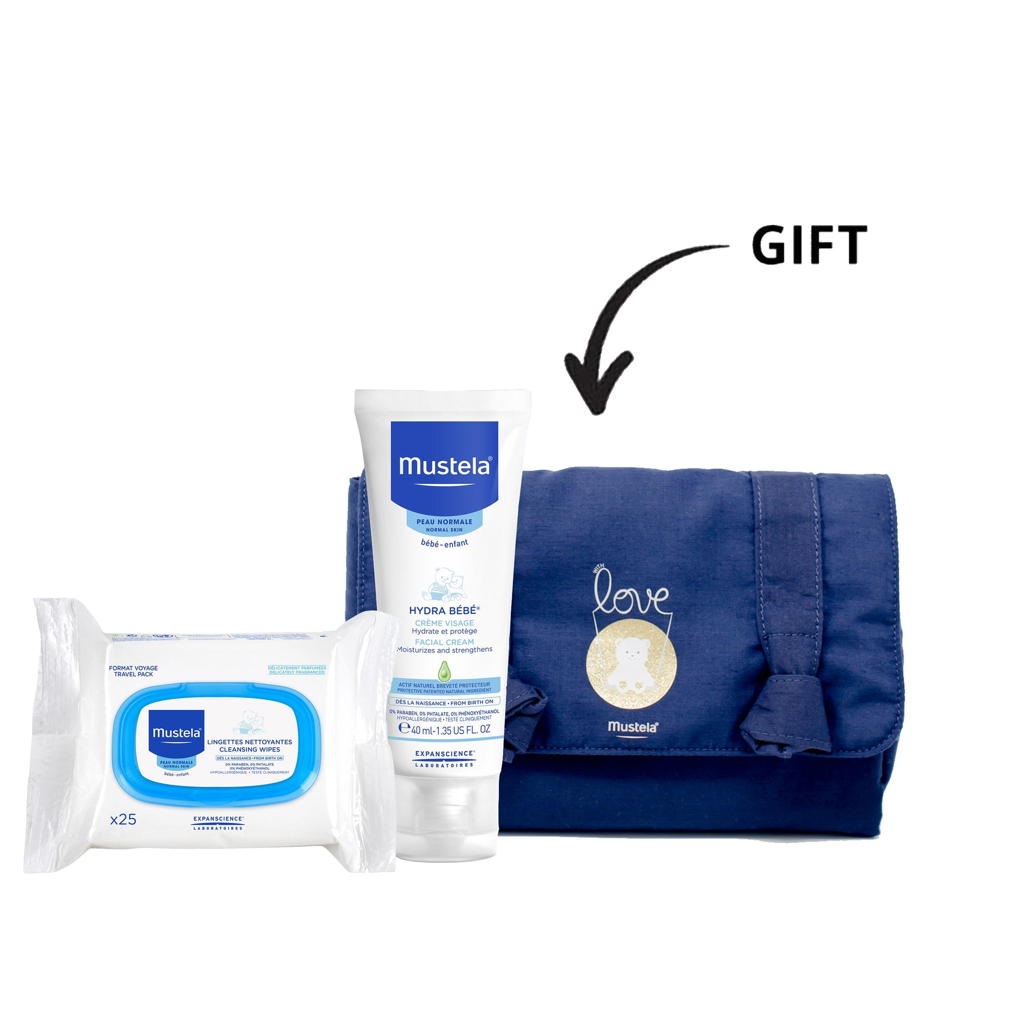 Baby Face Essentials + Baby Pouch Gift