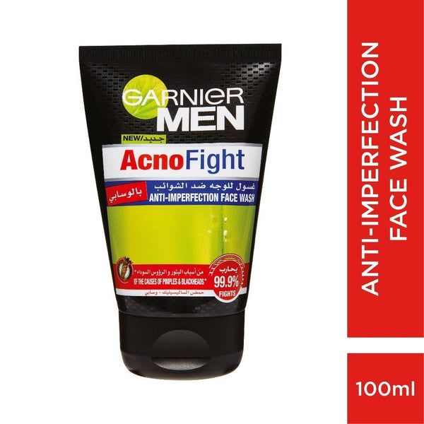 Garnier Men Acnofight Wasabi Face Wash 100ML