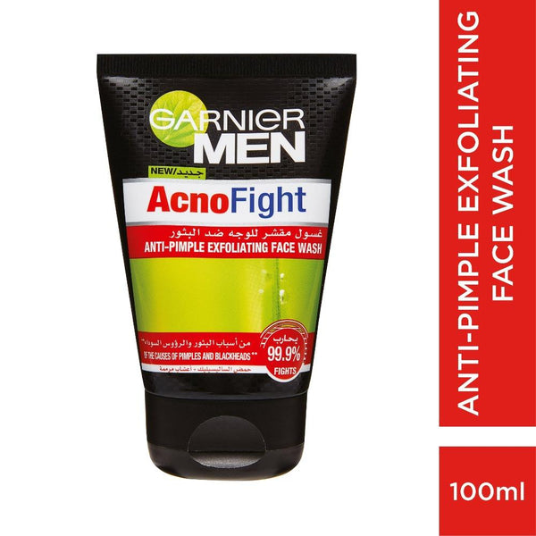 Garnier Men Acnofight Exfoliating Face Wash 100ML