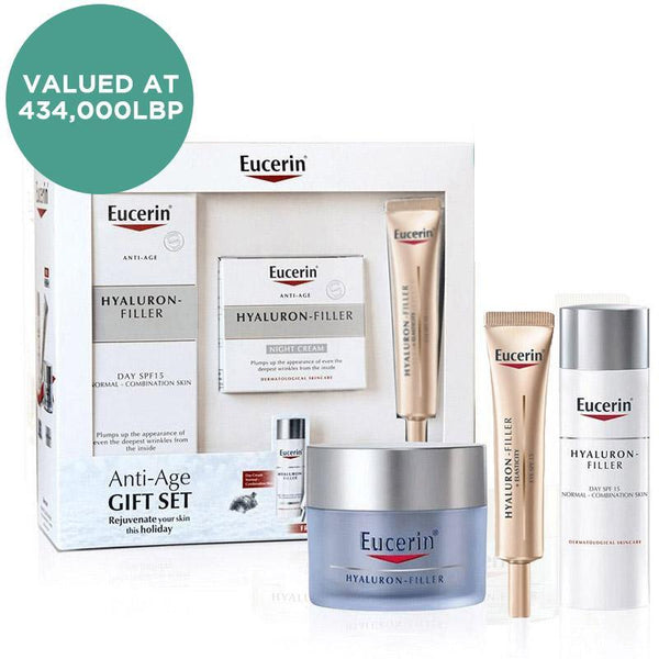 Hyaluron-Filler Normal to Combination Skin Anti-Aging Set
