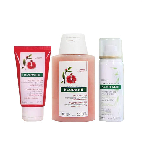 Klorane Travel Kit Pomegranate