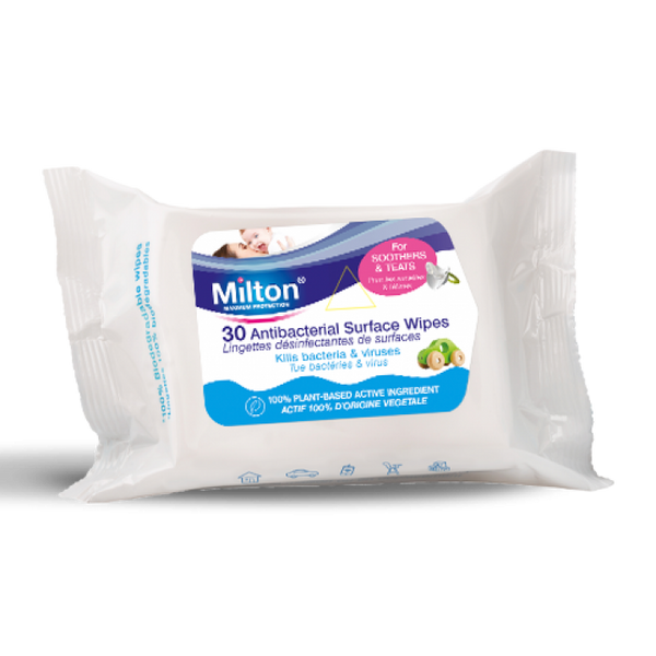 Antibacterial Surface Wipes x30