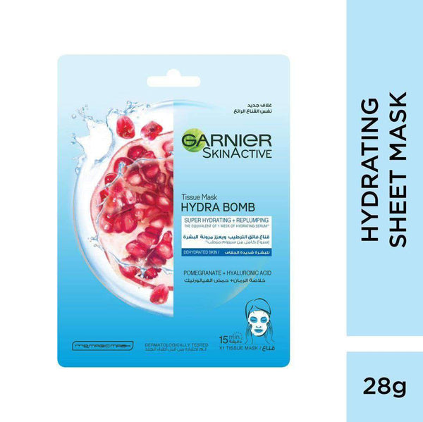 Moisture Bomb Super-Hydrating Replenishing Tissue Mask for Dehydrated Skin