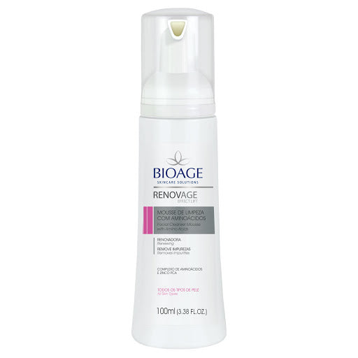 Renovage Facial Cleanser Mousse With Amino Acids 100ml