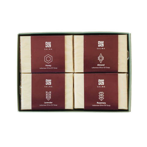 Renewal Journey - Lebanese Olive Oil Soap Gift Box - 450 grams