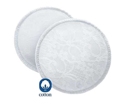 6 Washable Breast Pads