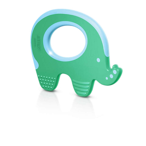 Teether - Elephant Green