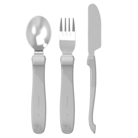 Twistshake Learn Cutlery Stainless Steel 12+m (7 Colors)