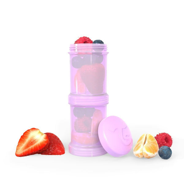Twistshake Container 2x 100ml (7 colors)
