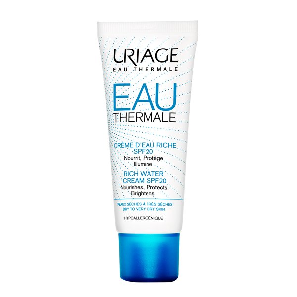Eau Thermale Rich Water Cream SPF20 40ML