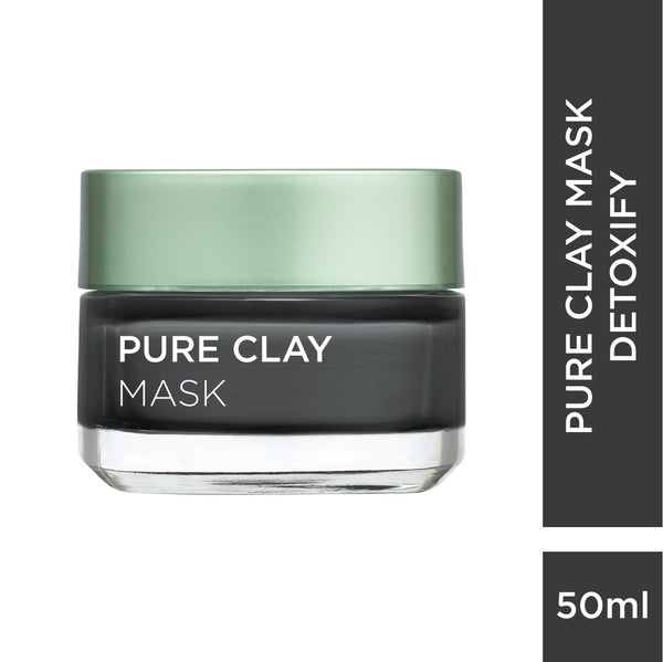 Pure Clay Masks - Detoxifying + Brightening Mask